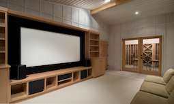 Home Theater with Natural Audio