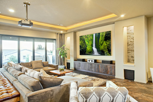 Family Room Home Theater